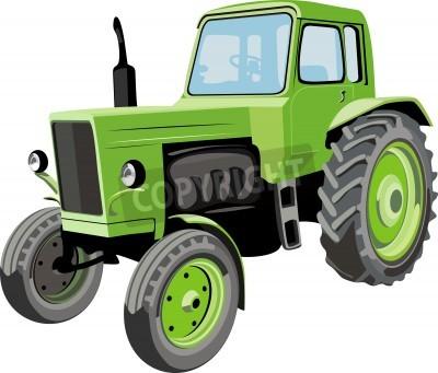 Fotomural Farm tractor