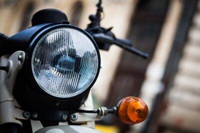 Fotomural Faros clásicos de la motocicleta