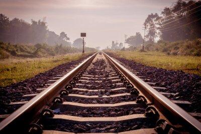 Fotomural Ferrocarril vintage