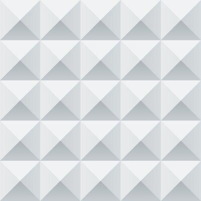 Fotomural Figuras geométricas blancas y grises abstractos sin fisuras patrón