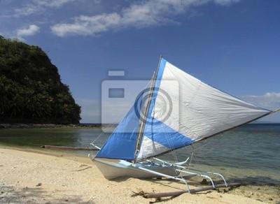 Fotomural filipina barco de pesca