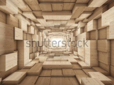 Fotomural final del tunel