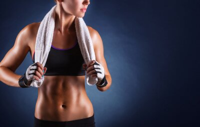 Fotomural Fitness mujer