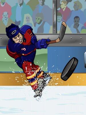 Fotomural Florida jugador de hockey sobre hielo.
