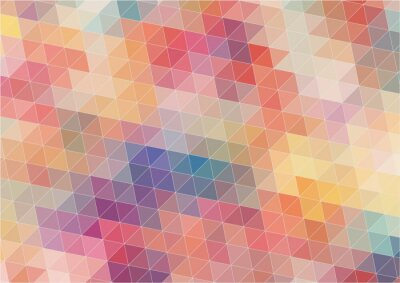 Fotomural Fondo abstracto colorido bidimensional