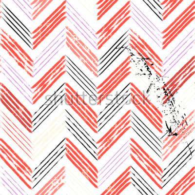 Fotomural Fondo abstracto, con trazos y salpicaduras, sin patrón de zigzag