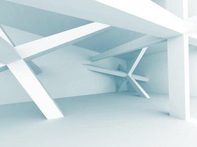 Fotomural Fondo Abstracto De La Arquitectura. Estructura de Construcción
