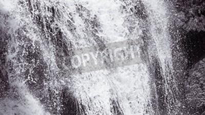 Fotomural Fondo abstracto de la textura de la cascada dura