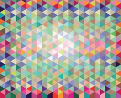Fotomural Fondo abstracto del vector colorido