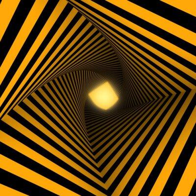 Fotomural fondo amarillo y negro