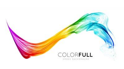 Fotomural Fondo colorido abstracto.