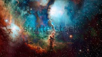 Fotomural Fondo de espacio de alta calidad. Elementos de esta imagen proporcionada por la NASA.