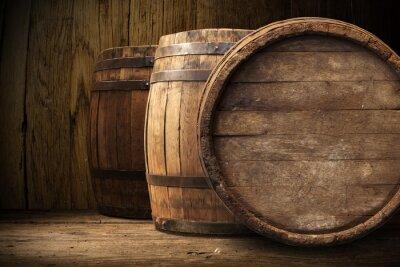 Fotomural fondo del barril