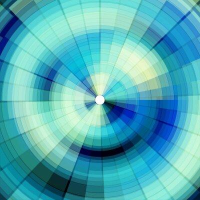 Fotomural fondo digital azul fresco