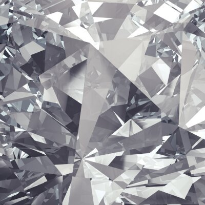 Fotomural fondo faceta cristalina