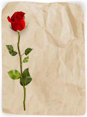 Fotomural Fondo feliz del día de tarjetas del día de San Valentín. EPS 10