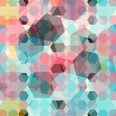 Fotomural Fondo geométrico de color
