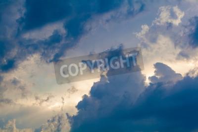Fotomural Fondo natural del cielo y las nubes