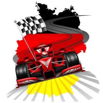 Fotomural Fórmula 1 GP de Alemania