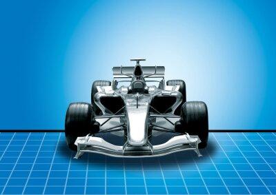 Fotomural Fórmula Uno, el concepto de velocidad