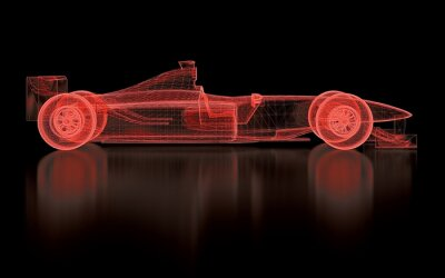 Fotomural Fórmula Uno Mesh