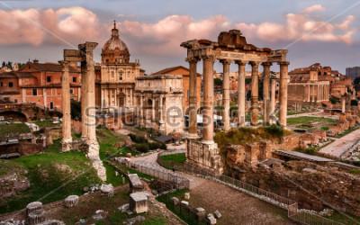 Fotomural Foro romano, roma