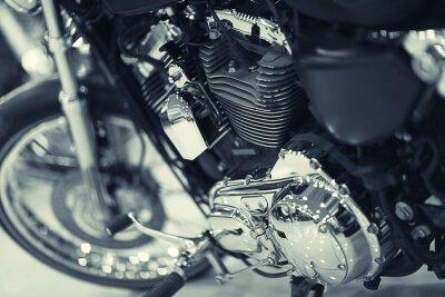 Fotomural fragmento de una motocicleta