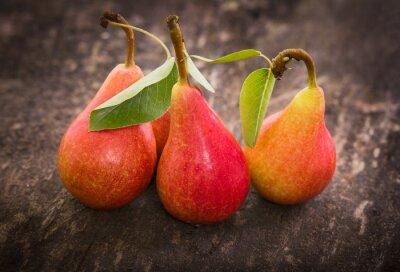 Fotomural Fresh organic pears