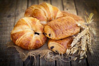 Fotomural Frische Croissants
