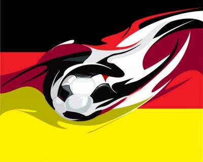 Fotomural Fútbol alemán