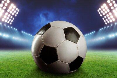 Fotomural Fútbol en el campo de fútbol