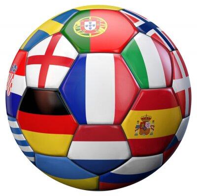 Fotomural Fútbol Europeo