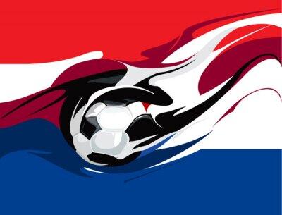 Fotomural Fútbol holandés
