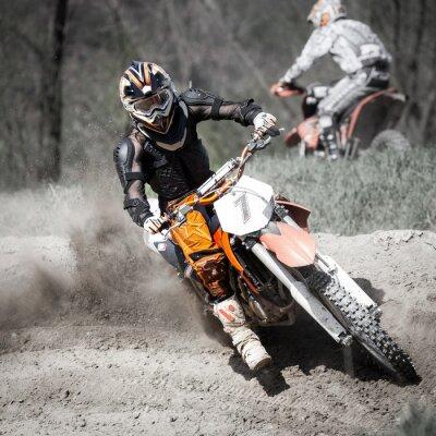 Fotomural gara di motocross