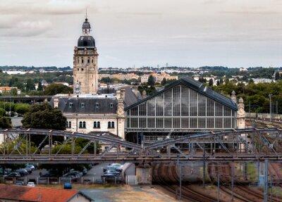 Fotomural gare de La Rochelle