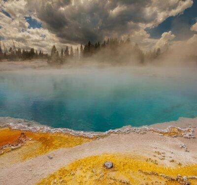 Fotomural Géiser en Yellowstone