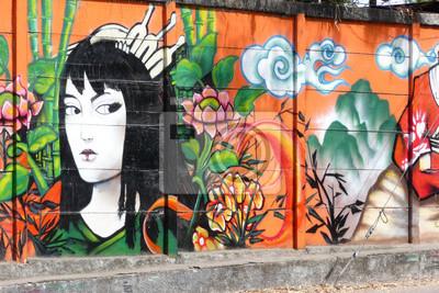 Fotomural geisha_1