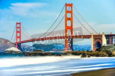 Fotomural Golden Gate Bridge en San Francisco, California, Estados Unidos.