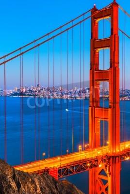 Fotomural Golden Gate Bridge, San Francisco, California, Estados Unidos.