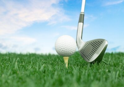 Fotomural Golf.