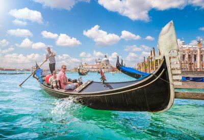 Fotomural Góndola en Canal Grande en Venecia, Italia