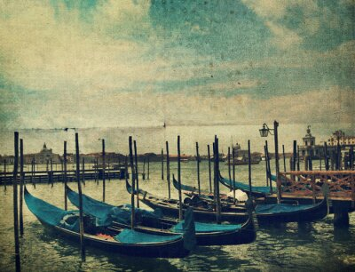 Fotomural Gondola. Venecia