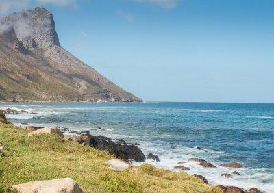 Fotomural Gordon's Bay Sudáfrica carretera de montaña costera