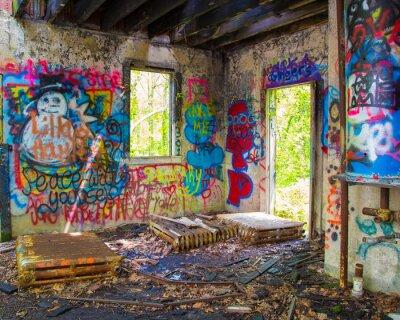 Fotomural Graffit Abandonado