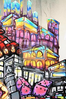 Fotomural Graffiti - Arte callejero