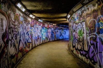 Fotomural Graffiti del subterráneo