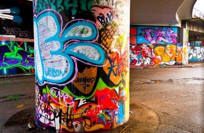 Fotomural Graffitti pared