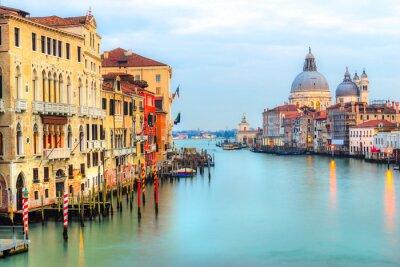 Fotomural Gran Canal y Basílica Santa Maria della Salute, Venecia, Italia