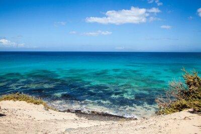 Fotomural Grandes Playas de Corralejo en Fuerteventura, Islas Canarias, España
