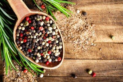Fotomural granos de pimienta